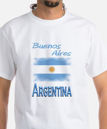 Buenos Aires - White T-Shirt