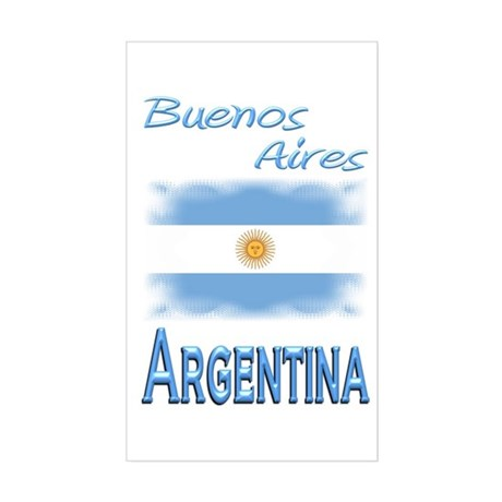 Buenos Aires - Rectangle Sticker