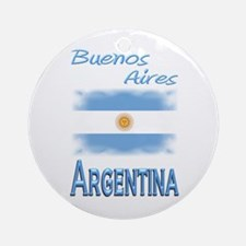 Buenos Aires - Ornament (Round)