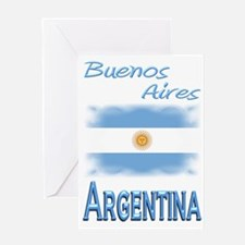 Buenos Aires - Greeting Card