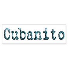 Cubanito - Bumper Bumper Sticker
