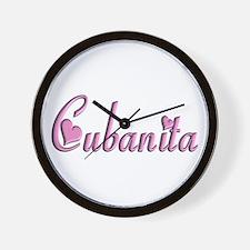 Cubanita - Wall Clock