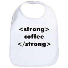 Strong Coffee Bib