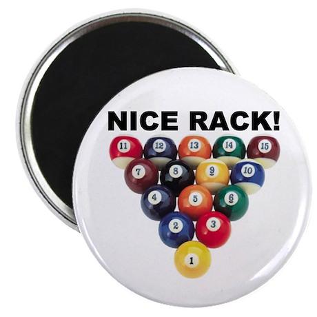 """NICE RACK! 2.25"""" Magnet (10 pack)"""