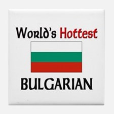 World's Hottest Bulgarian Tile Coaster