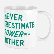 The Power Of A Mother Small Mugs