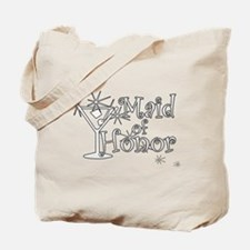 White C Martini Maid Honor Tote Bag