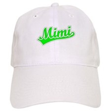Retro Mimi (Green) Baseball Cap