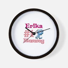 Erika - #1 Mommy Wall Clock