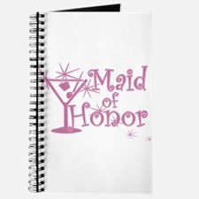 Pink C Martini Maid Honor Journal