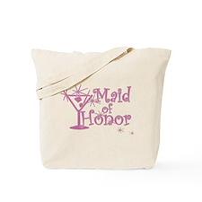 Pink C Martini Maid Honor Tote Bag