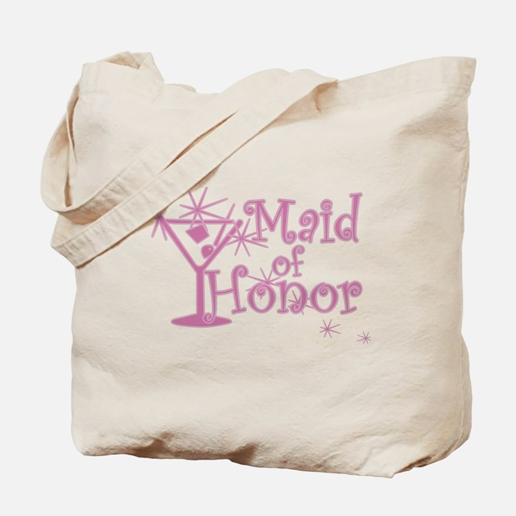 Pink C Martini Maid Honor Tote Bag