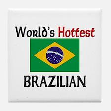 World's Hottest Brazilian Tile Coaster