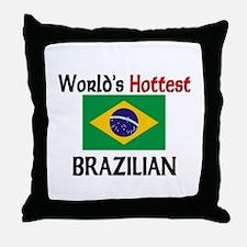World's Hottest Brazilian Throw Pillow