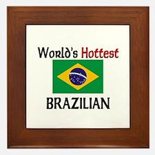 World's Hottest Brazilian Framed Tile