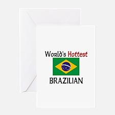 World's Hottest Brazilian Greeting Card