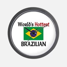 World's Hottest Brazilian Wall Clock