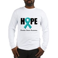 Hope Ovarian Cancer Long Sleeve T-Shirt