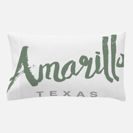 Amarillo Texas Pillow Case