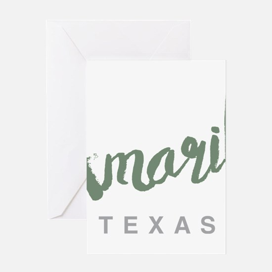 Amarillo Texas Greeting Cards