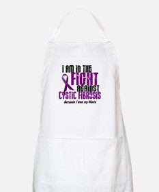 In The Fight Against CF 1 (Niece) BBQ Apron