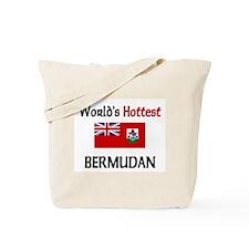 World's Hottest Bermudan Tote Bag