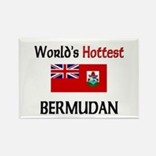 World's Hottest Bermudan Rectangle Magnet