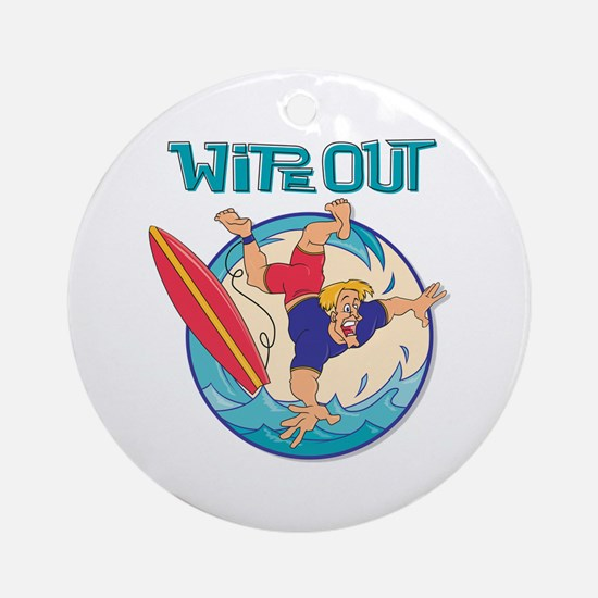 Wipe Out Ornament (Round)