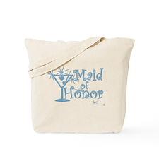 Blue C Martini Maid Honor Tote Bag