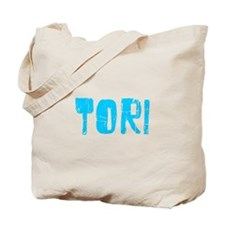 Tori Faded (Blue) Tote Bag