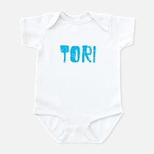 Tori Faded (Blue) Infant Bodysuit