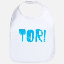 Tori Faded (Blue) Bib