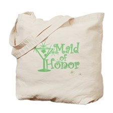 Green C Martini Maid Honor Tote Bag