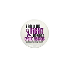 In The Fight Against CF 1 (Cousin) Mini Button