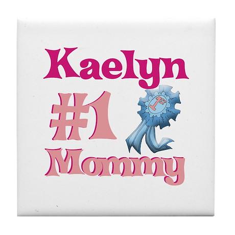 Kaelyn - #1 Mommy Tile Coaster
