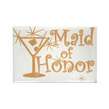 Orange C Martini Maid Honor Rectangle Magnet