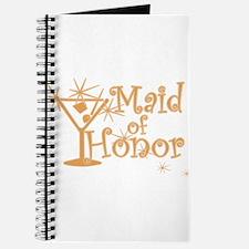 Orange C Martini Maid Honor Journal