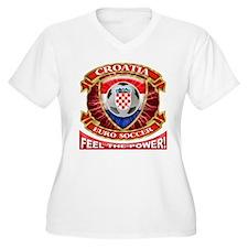 Croatia Soccer Power T-Shirt