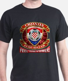 Croatia Soccer Power T-Shirt