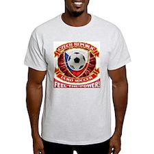 Czech Republic Soccer Power T-Shirt