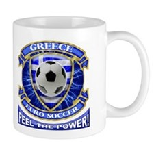 Greece Soccer Power Mug