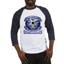 Greece Soccer Power Baseball Jersey