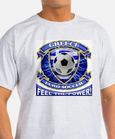 Greece Soccer Power T-Shirt