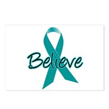 Ovarian Cancer Believe Postcards (Package of 8)