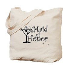 Black C Martini Maid Honor Tote Bag