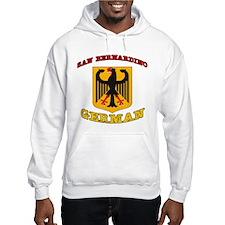 San Bernardino German Hoodie