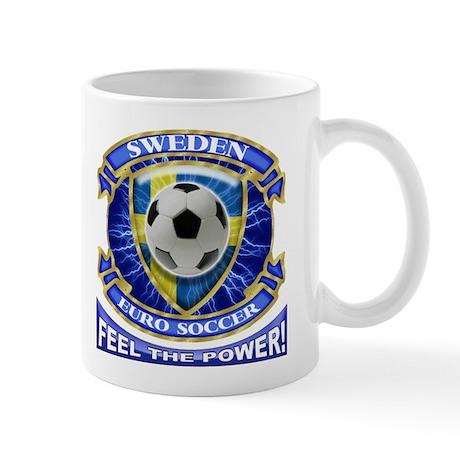 Sweden Soccer Power Mug