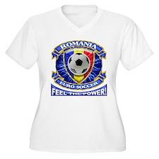 Romania Soccer Power T-Shirt