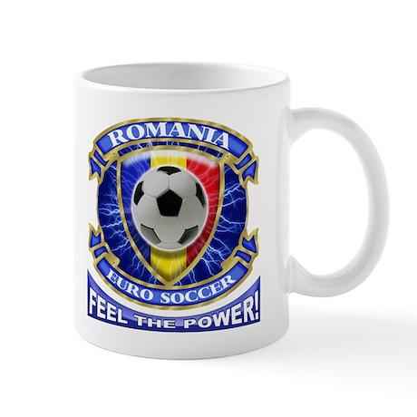 Romania Soccer Power Mug