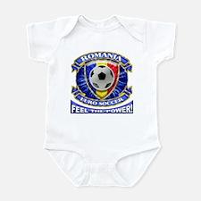 Romania Soccer Power Infant Bodysuit